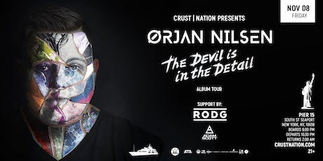 Trance Music Boat Party Yacht Cruise NYC: ORJAN NILSEN tickets