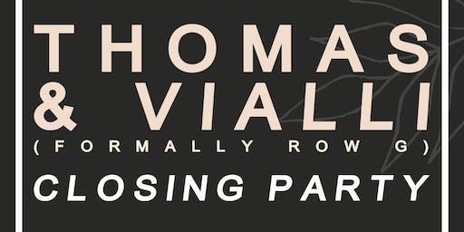 Thomas & Vialli (DJ) - Wild Paths Closing Party (Last Pub Standing)