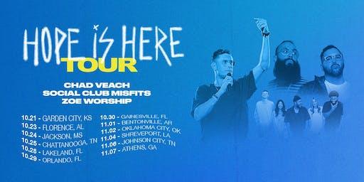Chad Veach Hope Is Here Tour - Childfund Volunteer - Gainesville, FL