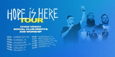 Chad Veach Hope Is Here Tour - Childfund Volunteer - Johnson City, TN