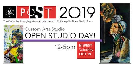 Custom Arts Studio OPEN STUDIO DAY! (POST) tickets