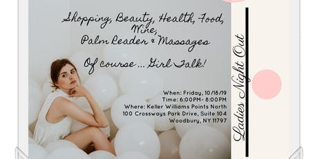 Ladies Night Out:  Shopping, Health, Beauty, Food, Wine tickets