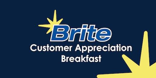 Brite Customer Appreciation Breakfast