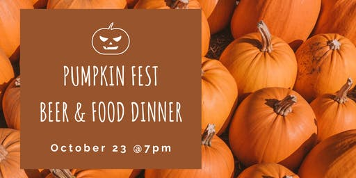 Pumpkin Fest Beer & Food Dinner