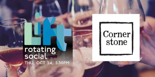 LIFT's rotating monthly social - Cornerstone Taphouse in Courtenay