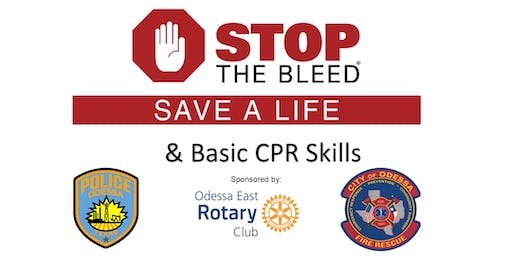 Stop the Bleed Class at Odessa Fire Rescue - Central Station Classroom