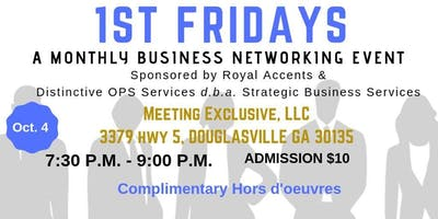 First Fridays Business Networking Social