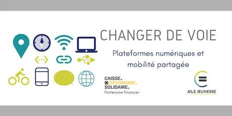 Changer de voie. Plateformes numériques et mobilité partagée. billets