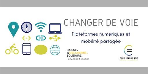 Changer de voie. Plateformes numériques et mobilité partagée.