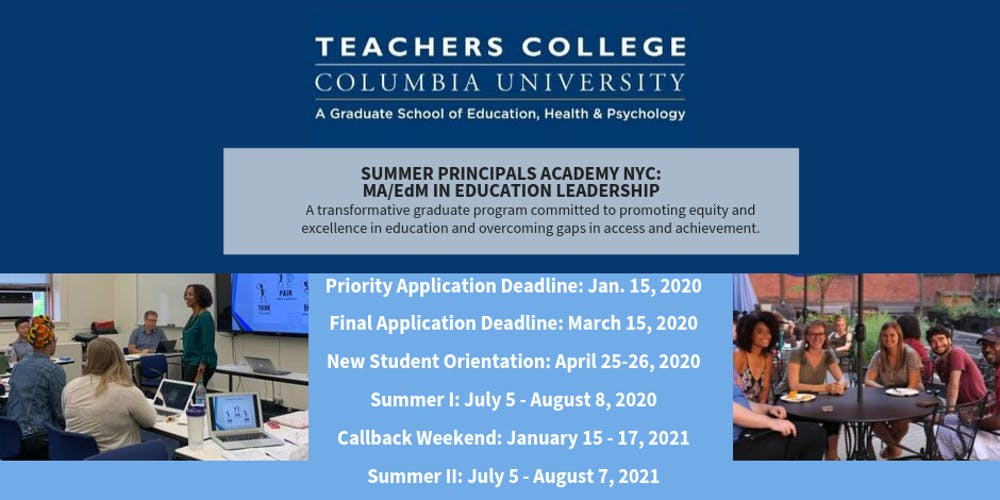 Events In Massachusetts August 25 2020.Summer Principals Academy Virtual Information Session