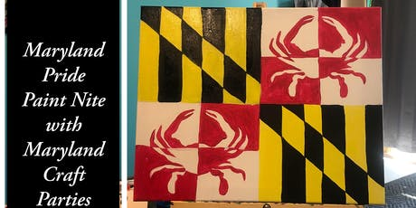 Maryland Pride Paint Nite with Maryland Craft Parties tickets