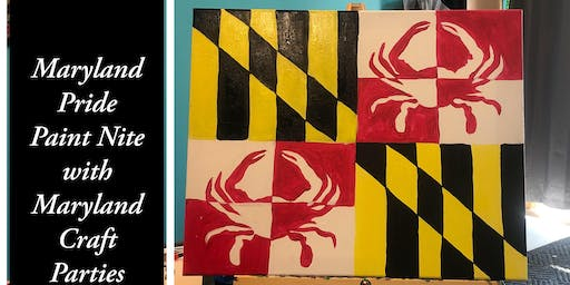 Maryland Pride Paint Nite with Maryland Craft Parties