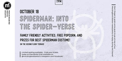 Spiderman: Into the Spider-verse - Fall Movie Nights at MBS