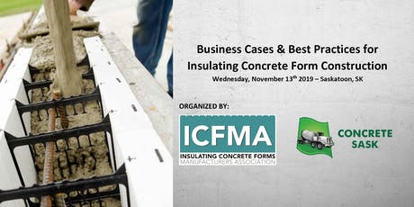 Business Cases and Best Practices for Insulating Concrete Form Construction tickets