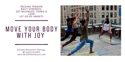 Full Body Workout @ Time Square - Move Your Body with Joy