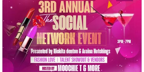 Makeup and Martinis 3rd annual social networking event tickets
