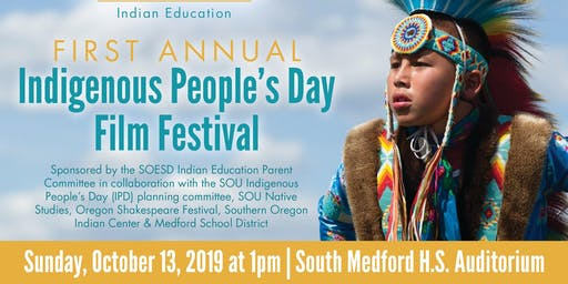 1st Annual Indigenous People's Day Film Festival