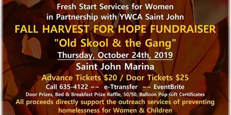 Fall Harvest For Hope Fundraiser for Fresh Start Services for Women/YWCA tickets
