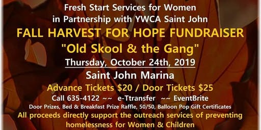 Fall Harvest For Hope Fundraiser for Fresh Start Services for Women/YWCA