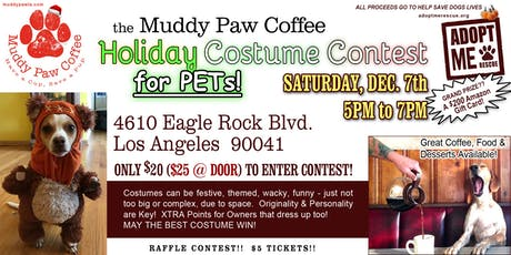 Muddy Paw Holiday Costume Contest tickets