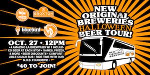 New Original Breweries Halloween Beer Tour!