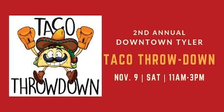 Tyler's 2nd Annual Taco Throwdown tickets
