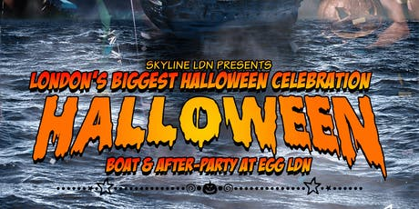 HALLOWEEN BOAT PARTY WITH A FREE AFTER PARTY FOR STUDENTS tickets