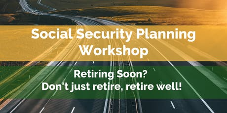 Social Security Workshop tickets