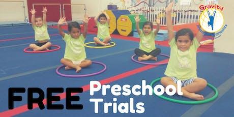 FREE Week of Preschool Gymnastics Trials tickets