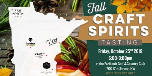 Faribault Fall Craft Spirits Tasting x