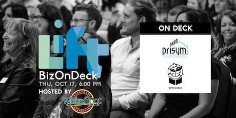 BizOnDeck Focus Group October 17th, 2019 tickets