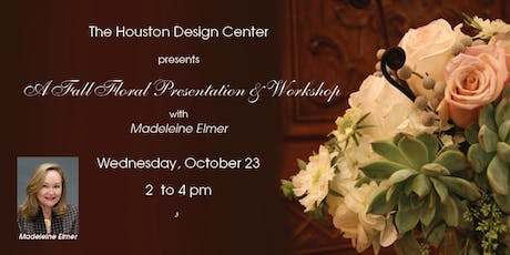 Fall Floral Design 2 Presentation & Workshop with Madeleine Elmer tickets