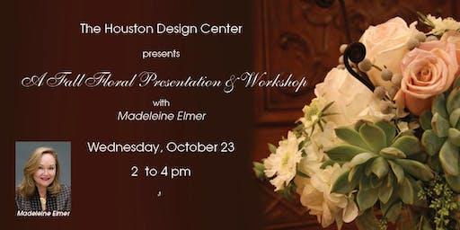 Fall Floral Design 2 Presentation & Workshop with Madeleine Elmer