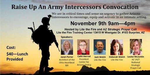 Raise Up An Army - Intercessors Convocation