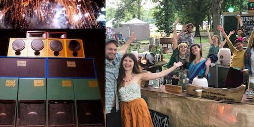 Pop up Garden Firework Party ! Dende Soundsystm with Ceilidh Rave & DJ's
