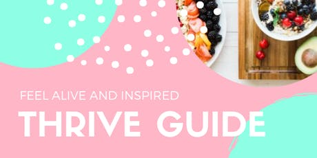 THRIVE GUIDE tickets