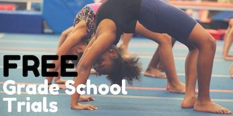 FREE Week of Grade School Gymnastics Trials tickets