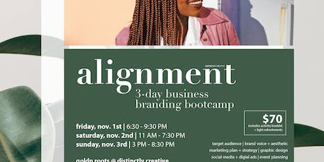 Alignment: 3-Day Business Branding Bootcamp tickets