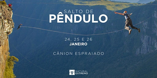 Salto de Pêndulo Natural Extremo | JANEIRO | Cânion Espraiado - Urubici