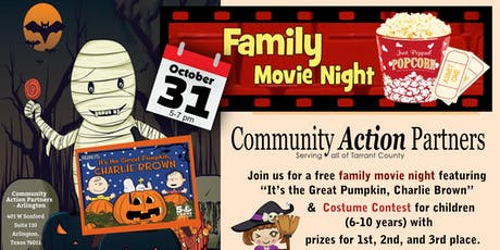 Free Family Fun Movie Night tickets