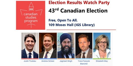 Canadian Election Results Watch Party tickets