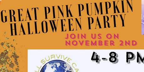 The Great Pink Pumpkin Halloween Party @Otium Cellars benefiting WWSC tickets
