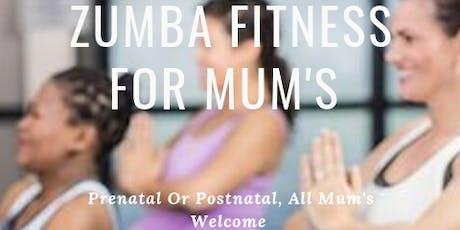 Zumba Fitness for MUM's tickets