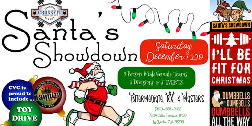 Santa's Showdown @ Coachella Valley CrossFit!!!