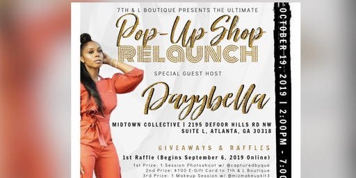 Relaunch/Pop Up Shop