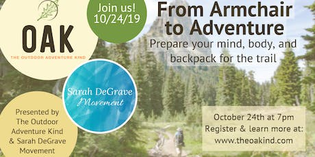 From Armchair to Adventure tickets