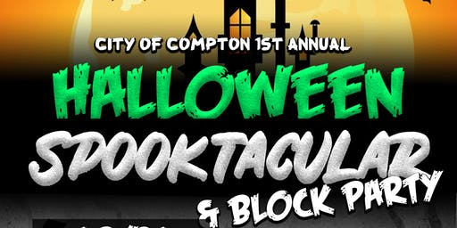 City of Compton Halloween Spooktacular & Block Party