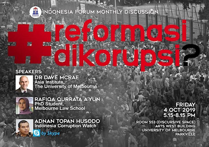 #ReformasiDikorupsi? image