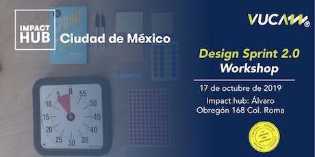 Workshop presencial de Design Sprint 2.0 entradas