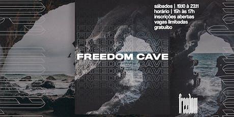 Freedom Cave - Treinamento para discipulado ingressos